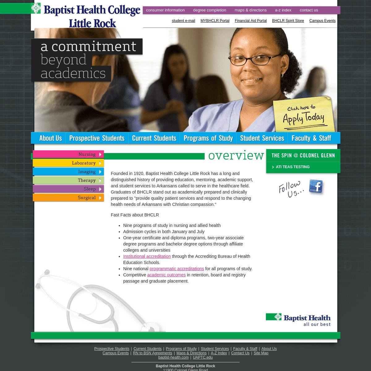 Baptist Health College