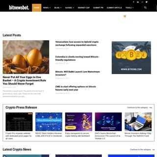 Home - BitNewsBot