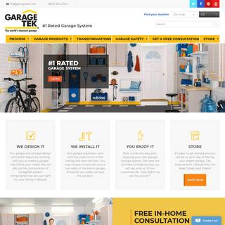Garage Storage Solutions for In-Home Makeover - GarageTek Systems