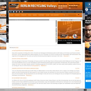 BERLIN RECYCLING Volleys - Startseite