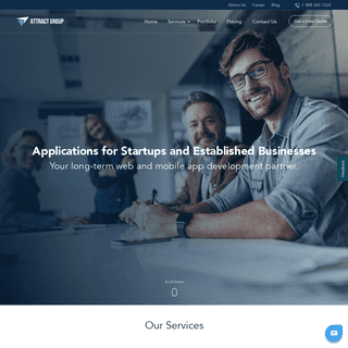 Attract Group – Awarded Web & Mobile Design and Development company