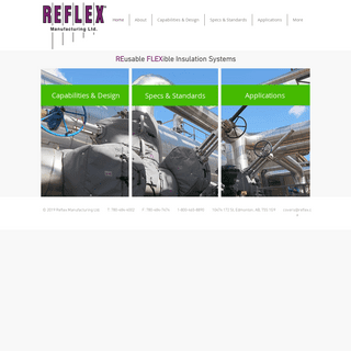 Reflex Manufacturing - Reusable Flexible Insulation Systems