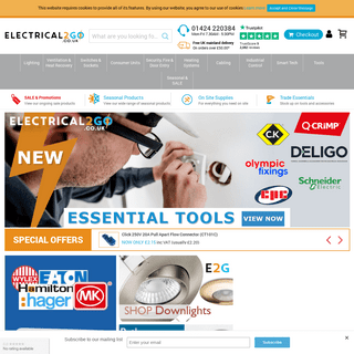 ArchiveBay.com - electrical2go.co.uk - Electrical2go online electrical wholesaler for trade and public.
