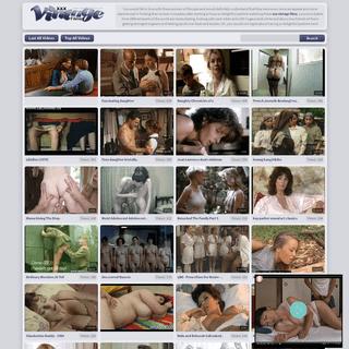 XXX VINTAGE PORN TUBE- hot retro sex films with classic fuck