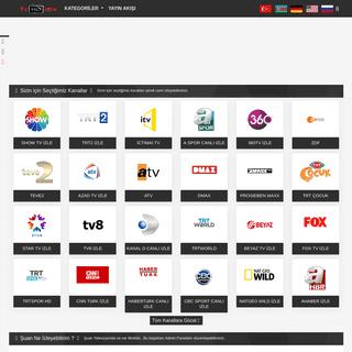 Ana Sayfa - Canlı Tv İzle - Canlı tv İzle