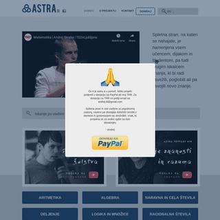 Astra.si - Matematika je jezik