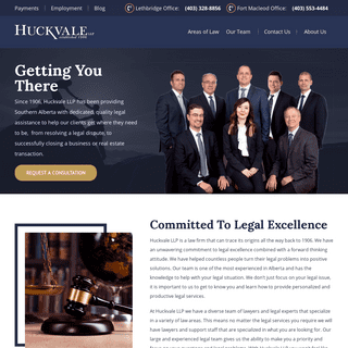 Home - Huckvale LLP