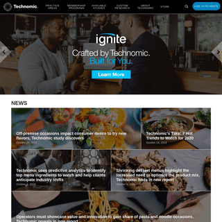 Vital Insights for the Foodservice Industry - Technomic