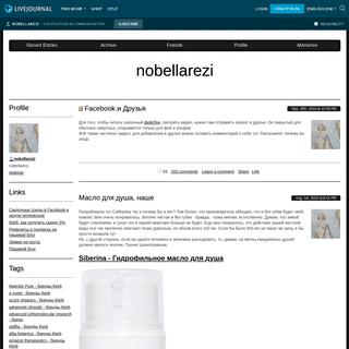 ArchiveBay.com - nobellarezi.livejournal.com - nobellarezi — LiveJournal