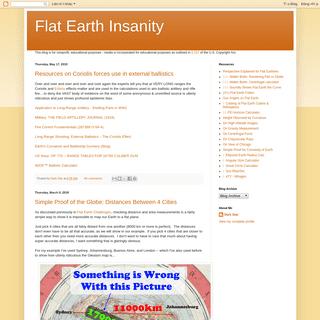 Flat Earth Insanity