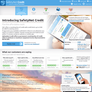 SafetyNet Credit - The Smart Credit Facility