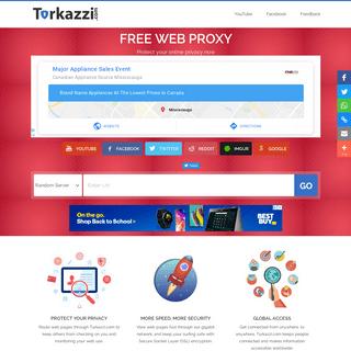 Turkazzi.com - Free Web Proxy Site