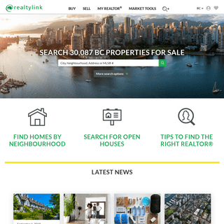 Search for homes in BC - Realtylink.org