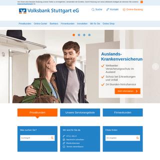 Meine Heimat. Meine Bank. - Volksbank Stuttgart eG