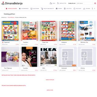 DimanaBelanja- Promo, katalog, brosur