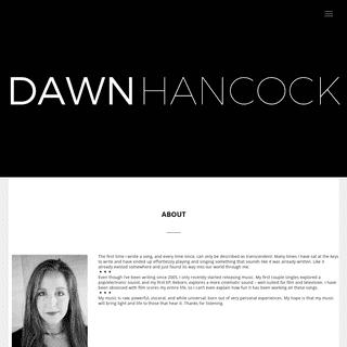 Dawn Hancock – Cinematic Music for Film + TV