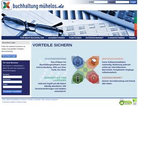 Buchhaltung-mühelos.de - Online für Freiberufler & Selbständige