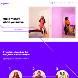 Joinery- Make Money When You Move