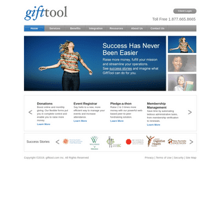 gifttool - fundraising software, event management, ecommerce solutions & more.