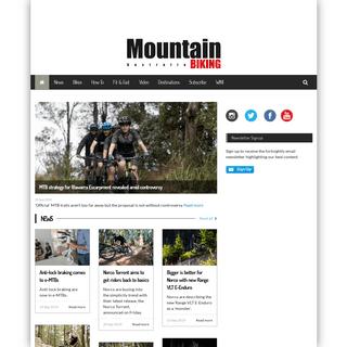 Mountain bike reviews, tips, news, training - Mountain Biking Australia magazine