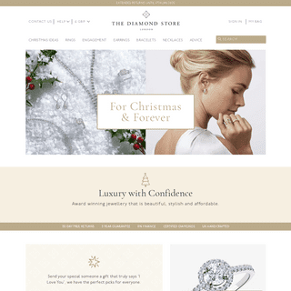 The Diamond Store.co.uk Online Engagement Rings, Diamond and Gemstone Jewellery