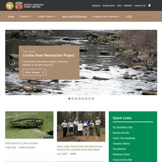 ArchiveBay.com - ncforestservice.gov - North Carolina Forest Service