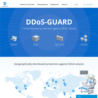 DDoS Protection and Mitigation - Anti-DDoS - DDoS-GUARD