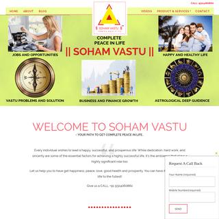 Vastu Consultant in Thane, Mumbai, Vashi - Soham Vastu