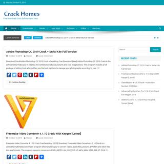 ArchiveBay.com - crackhomes.com - Crack Software Full Version Free pc crack, patch, serial key for PC