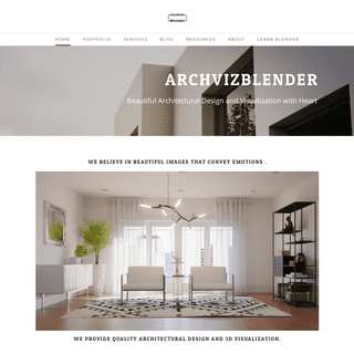 archvizblender - Home