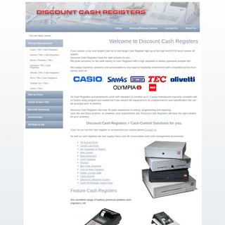 Discount Cash Registers