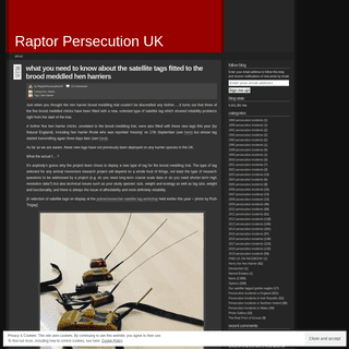 ArchiveBay.com - raptorpersecutionscotland.wordpress.com - Raptor Persecution UK