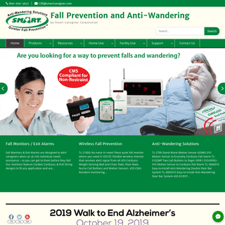 Smart Caregiver - Fall Prevention for Seniors - Quiet & CordLess Products