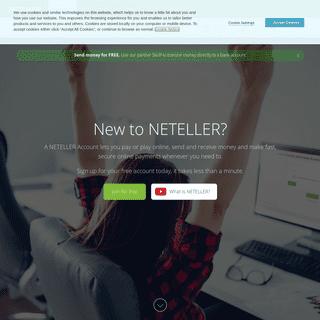 New to NETELLER- - Neteller