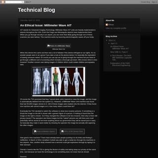 Technical Blog