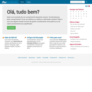 ArchiveBay.com - dicionarioweb.com.br - O melhor Dicionário de Português Online e Grátis - Dicionário Web