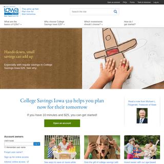 College Savings Iowa 529 Plan