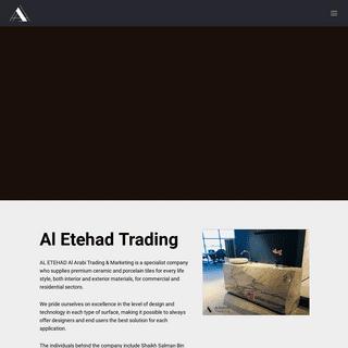 HOME - Al Etehad Trading
