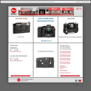 Leica Shop Home