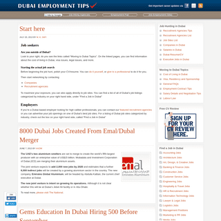 ArchiveBay.com - dubaiemploymenttips.com - Dubai Employment Tips — Your Guide to Jobs in Dubai...