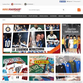 Calcio shop. Maglie da Calcio Storiche e retro. - Retrofootball®