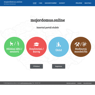 ArchiveBay.com - majordomus.online - majordomus.online – servis pro domácnost