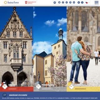 Kutná Hora - městský informační portál