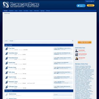 Dallas Cowboys Forum - CowboysZone.com