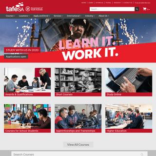 TAFE SA - Vocational Education & Training in Adelaide, South Australia