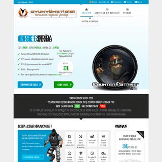 OyunYoneticisi-Counter-Strike 1.6 indir,Cs-Go Server Kirala