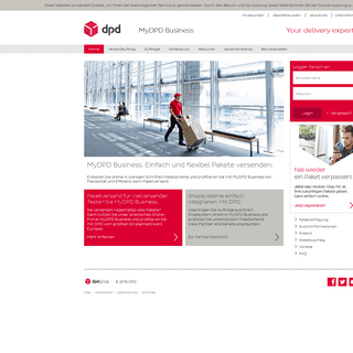 MyDPD Business - Profi-Tool für Ihren DPD Paketversand