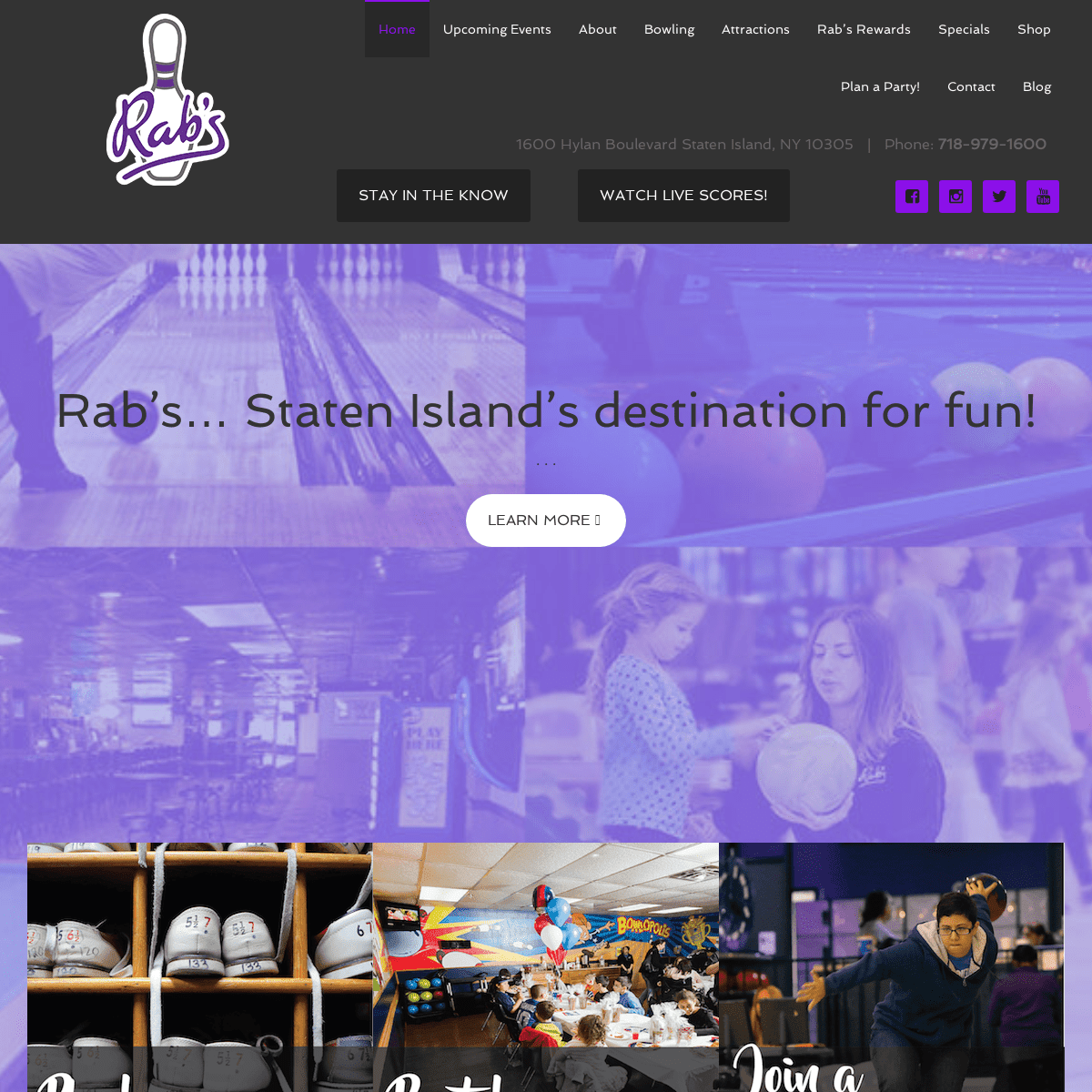 ArchiveBay.com - bowlatrabs.com - Bowling Alley in Staten Island – Rab's Country Lanes
