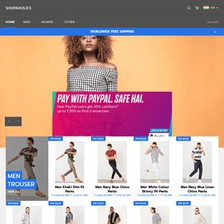 ArchiveBay.com - shopaholics.co - Shopaholics - Online Shopping - Worldwide Free Shipping - Shop Now