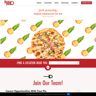 Your Pie Pizza Restaurants - Express Your Inner Pizza - Your Pie